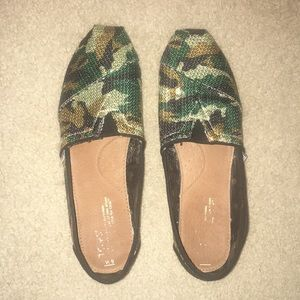 Army Print sequence Toms